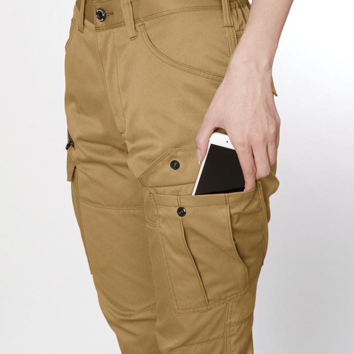背アーム Phone収納 ポケット(左)