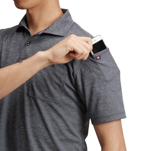袖マルチポケット(左)