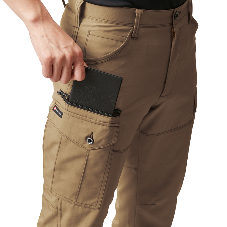 長財布・レベルブック収納ポケット(右・深さ23cm)