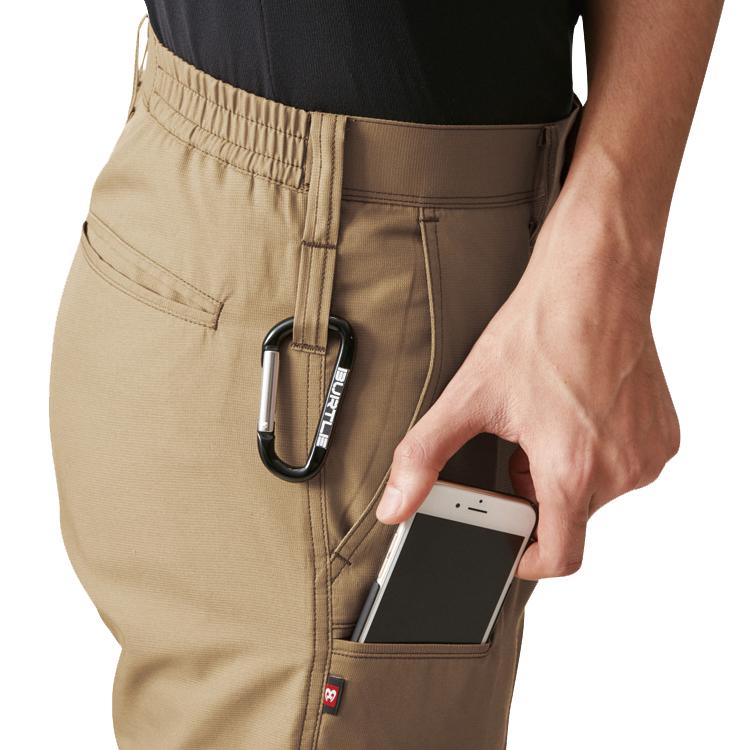 両脇ツインループPhone収納ポケット(左)