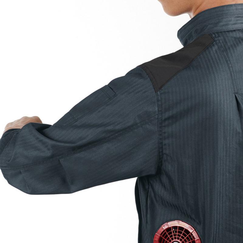 肩コーデュラ補強布使用 袖アームタック