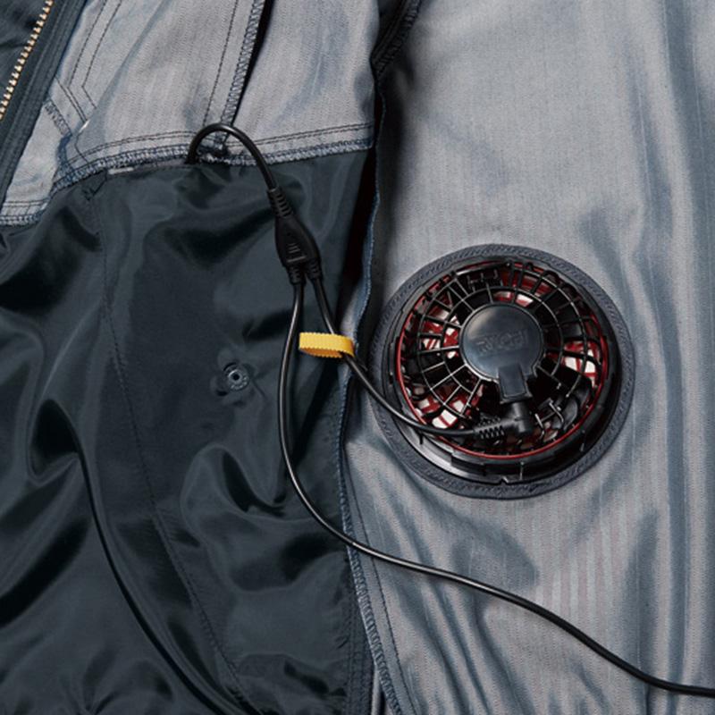 内バッテリーポケット(左・ボタン止め)