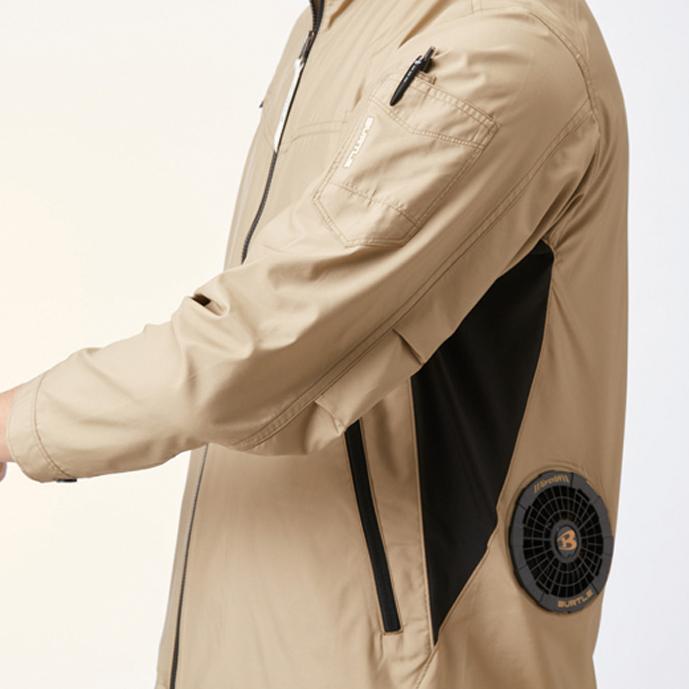 袖ペンポケット(左)