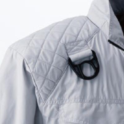 無線機が入る胸ポケット
