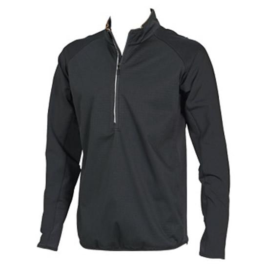ラミネートロングスリーブジップシャツ  84235