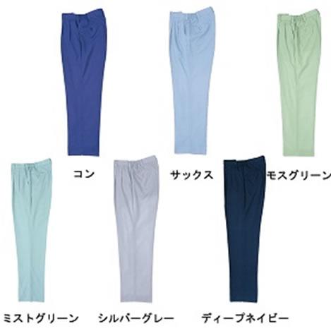 ジーベック 春夏作業服 ツータックスラックス