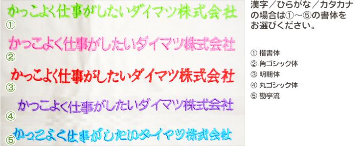 漢字/ひらがな/カタカナ