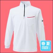【寅壱(TORAICHI)】【春夏作業服】ジップアップハイネックシャツ 5960-623