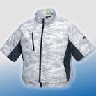 ジーベック XE98006 空調服迷彩半袖ブルゾン