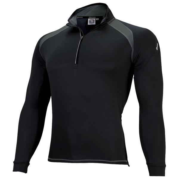 ロングスリーブハーフジップシャツ 3025