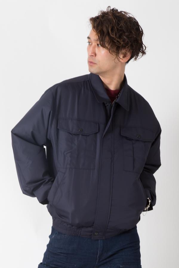 【サンエス】【春夏作業服】空調服 空調ブルゾン KU90540S      モデル画像1