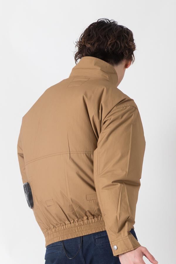 【サンエス】【春夏作業服】空調服 綿100%空調ブルゾン KU91400        モデル画像2