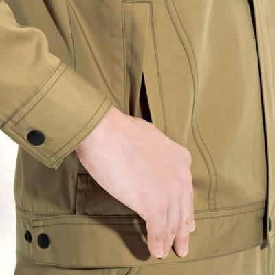 両脇サイド逆ポケット
