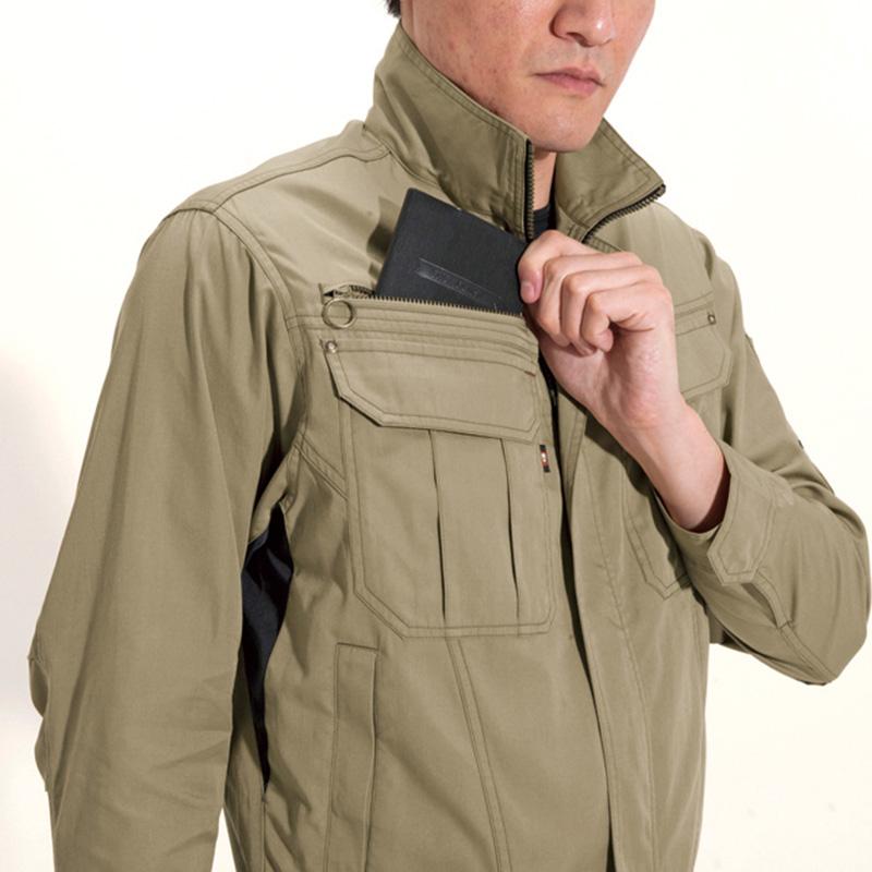 レベルブック収納ポケット(右:深さ19cm)