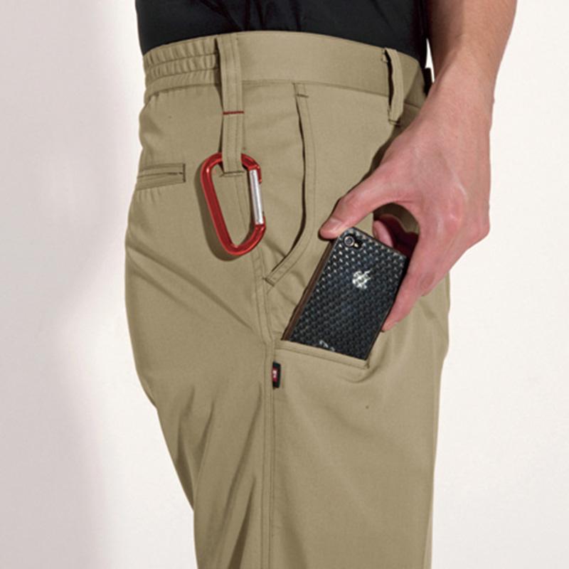 両脇ツインループ、Phone収納ポケット(右モモ)