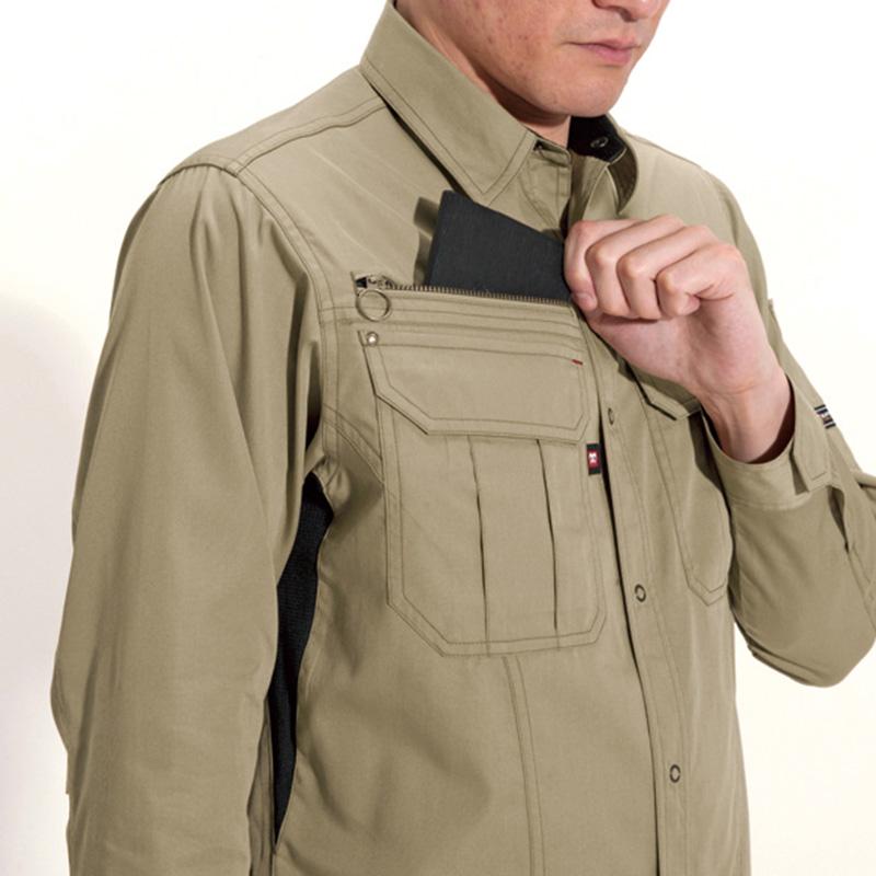 Phone収納ポケット(右胸)