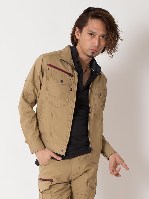 【BURTLE(バートル)】【春夏作業服】ジャケット(ユニセックス)7041