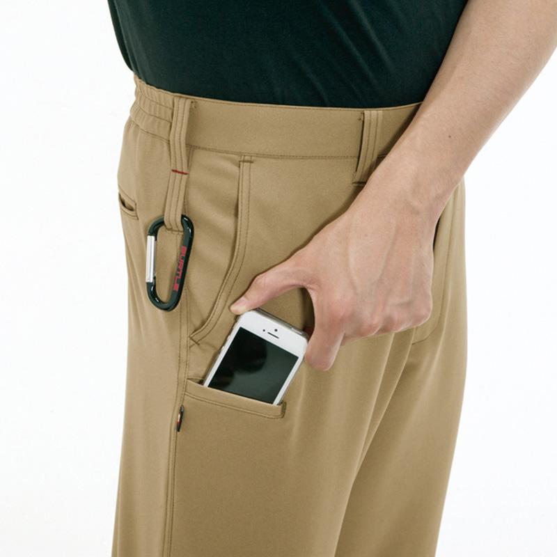 Phone収納ポケット(右モモ)、両脇ツインループ