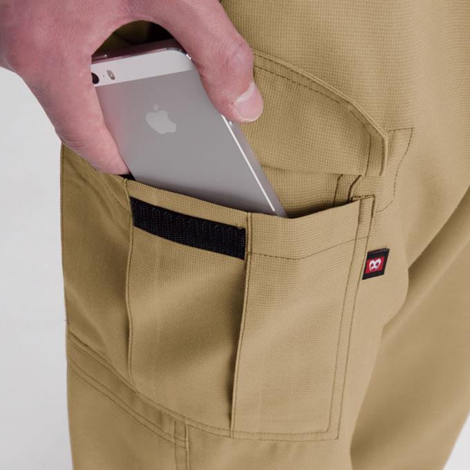 Phone収納ポケット(右)