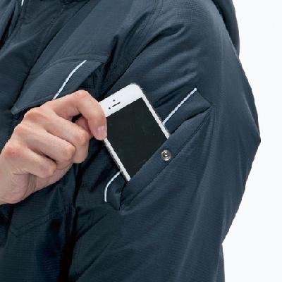袖ポケット(左・リフレクターデザイン)