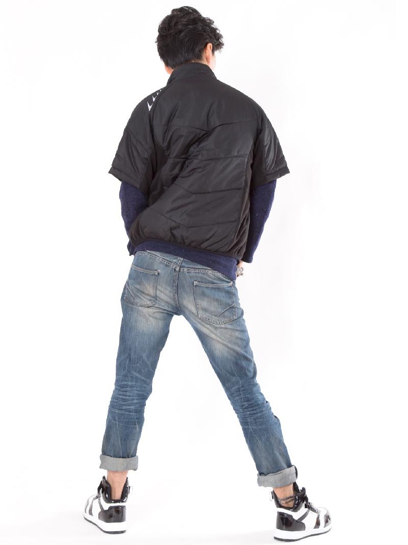 【BURTLE(バートル)】【秋冬作業服】半袖防寒ブルゾン7316