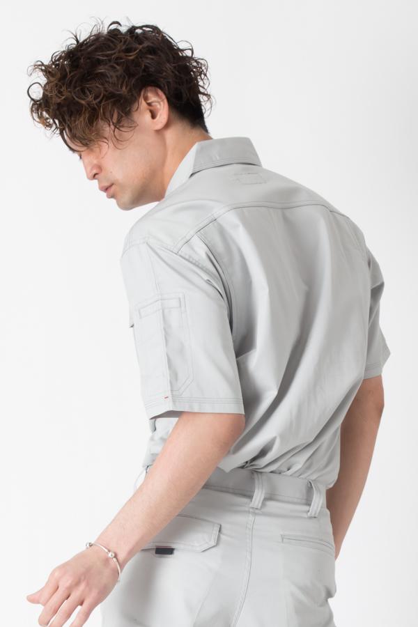 【BURTLE(バートル)春夏作業服】 半袖シャツ 8025