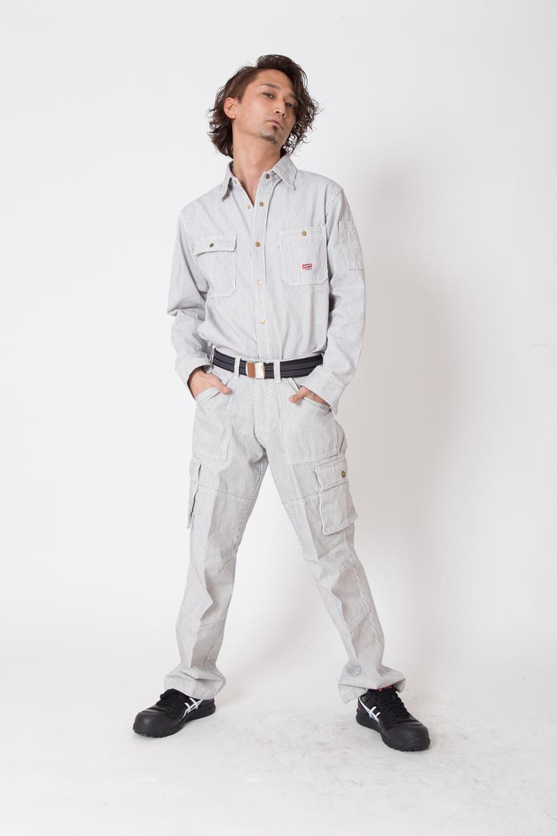 【ドッグマン】【秋冬作業服】  カーゴパンツ 8115