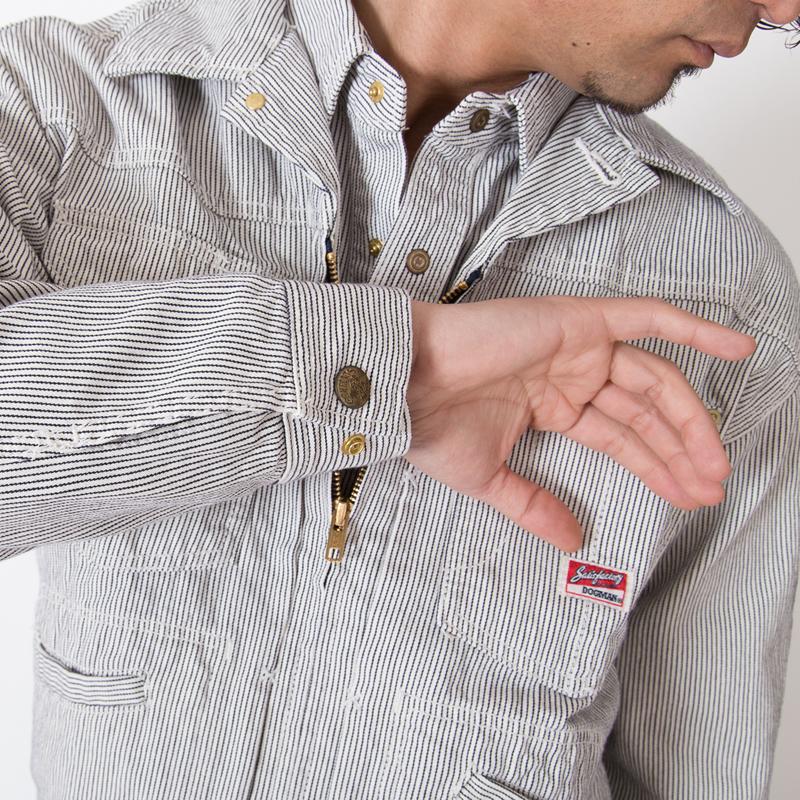 袖口ホックボタン