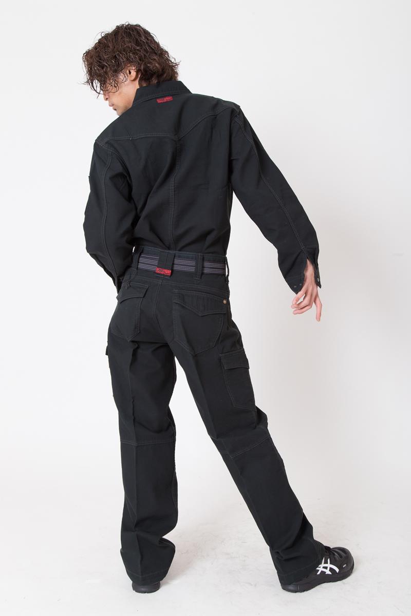 【ドッグマン】【秋冬作業服】 長袖シャツ 8151