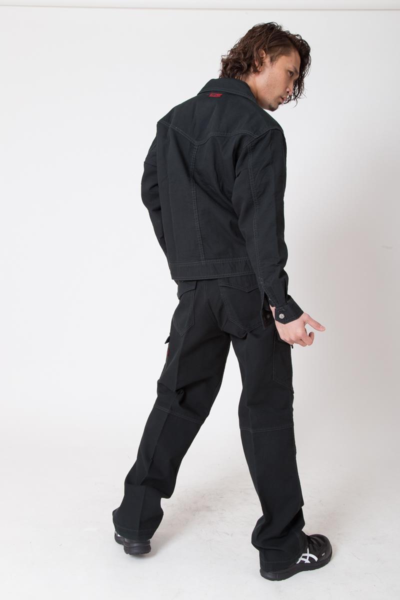 【ドッグマン】【秋冬作業服】 カーゴパンツ 8155