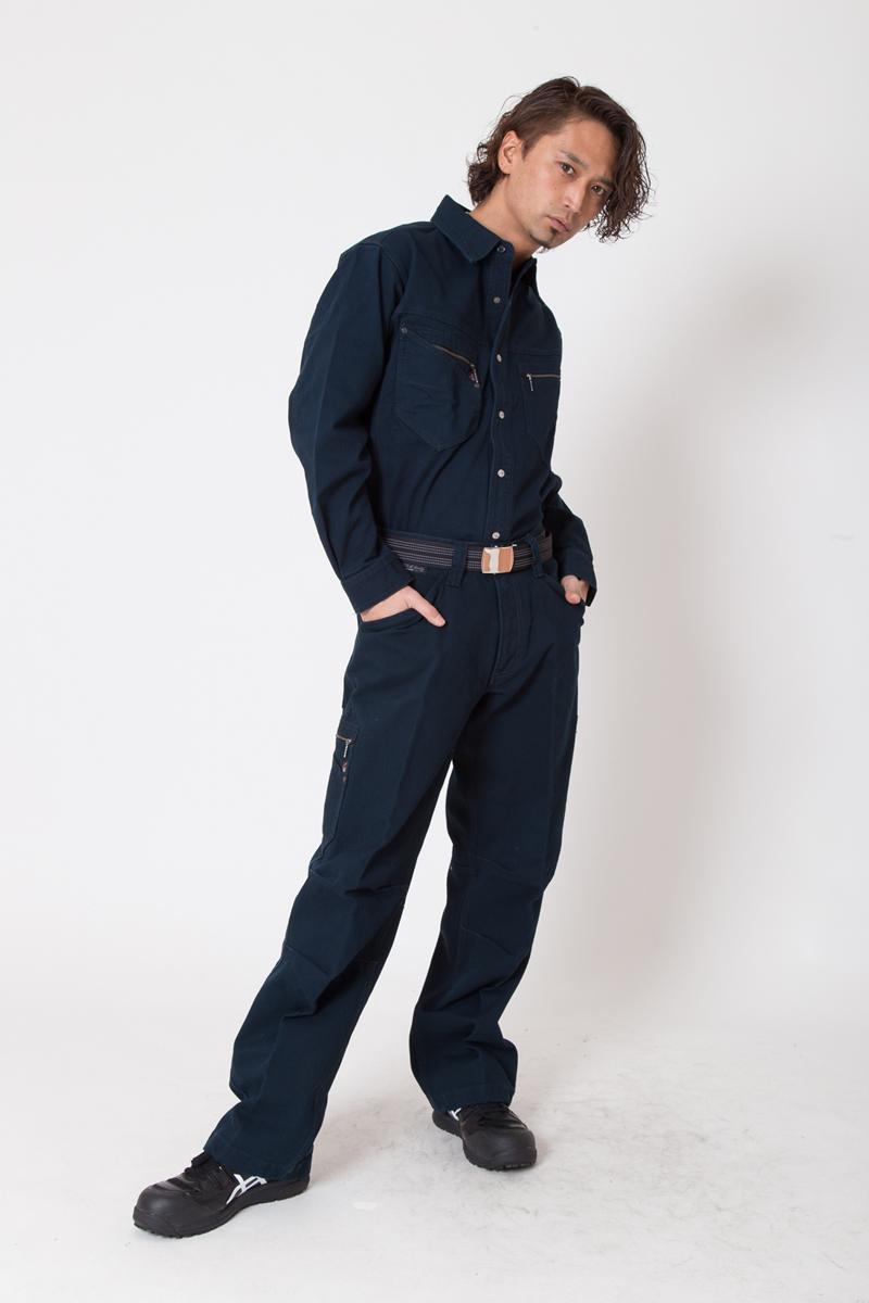 【ドッグマン】【秋冬作業服】 長袖シャツ 8191