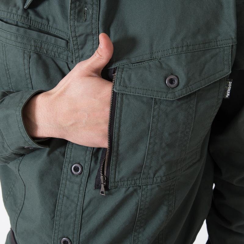 左胸サイドポケット