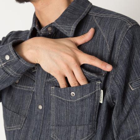 フロント左胸ポケット
