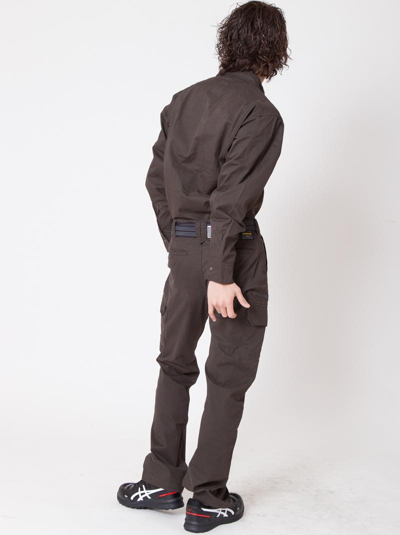 【イーブンリバー】【秋冬・年中作業服】 ソリッドシャツ ERX-106