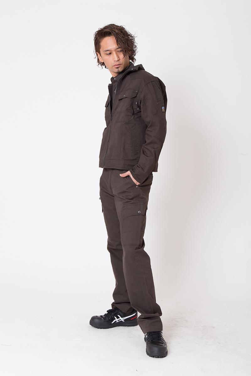 【イーブンリバー】【秋冬・年中作業服】 ソリッドブルゾン ERX-107