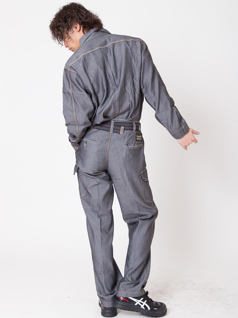 【イーブンリバー】【春・夏作業服】 エアーライトカーゴパンツ SR-2002