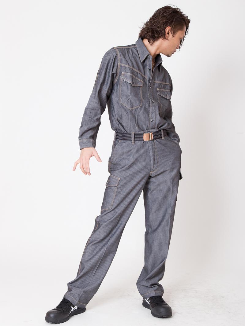 【イーブンリバー】【春夏作業服】エアーライトシャツ SR-2006