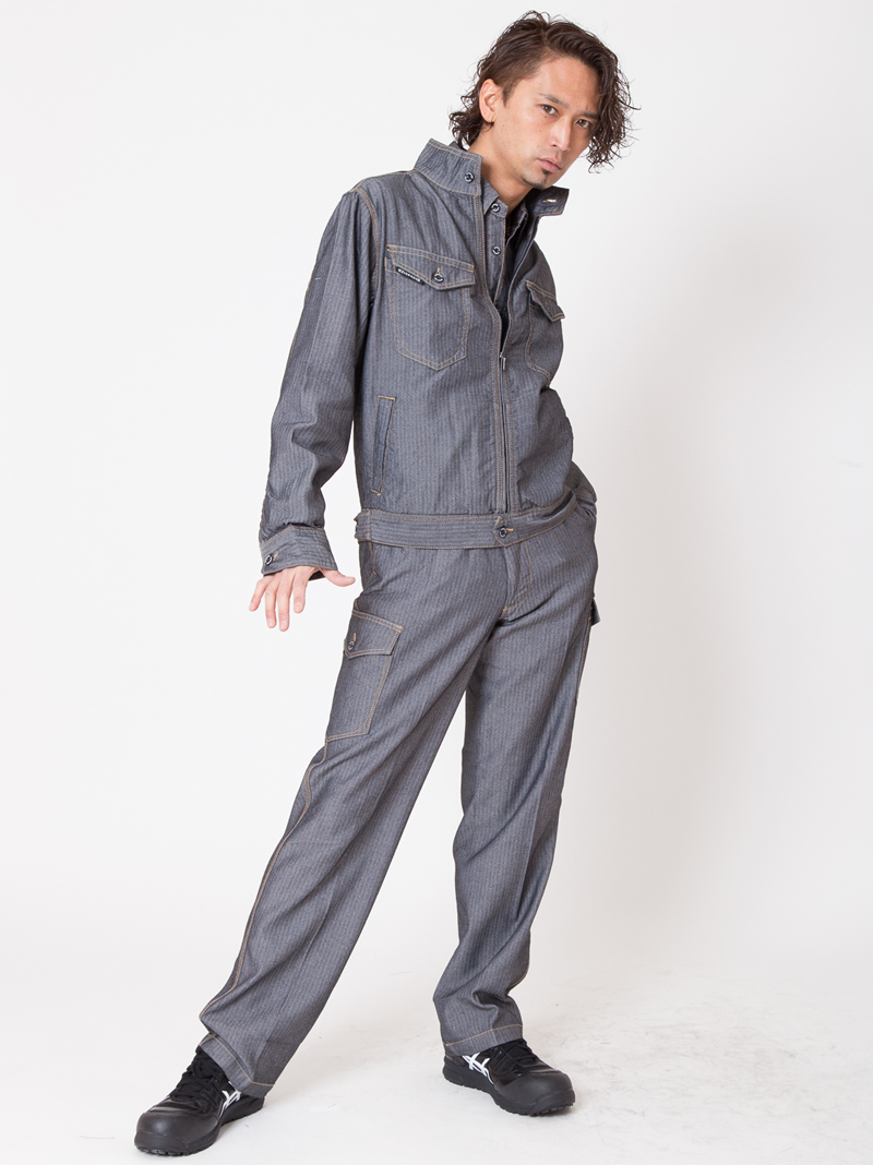 【イーブンリバー】【春夏作業服】エアーライトブルゾン SR-2007