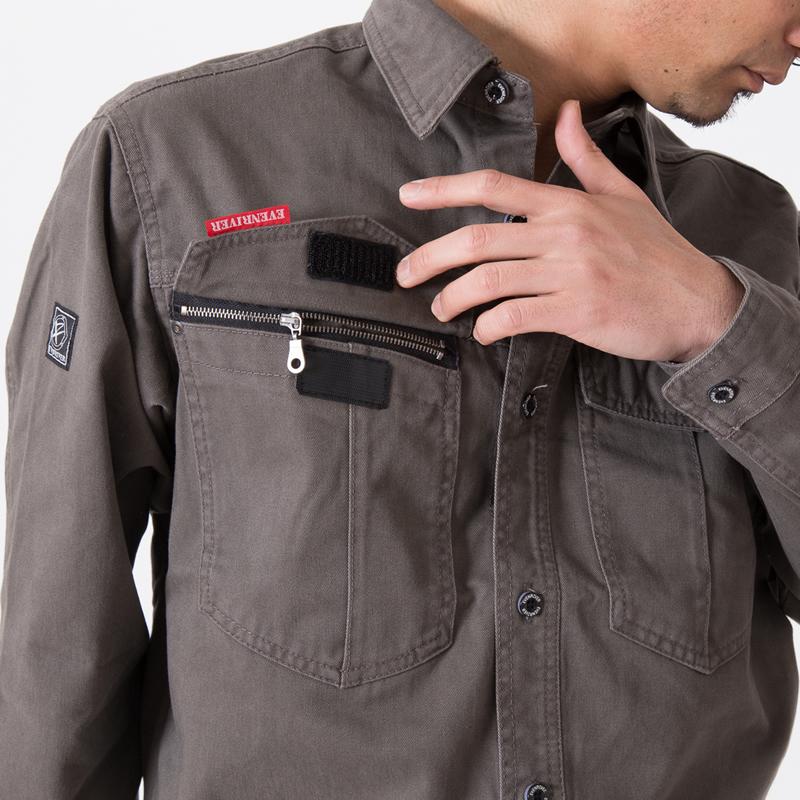 右胸ポケット
