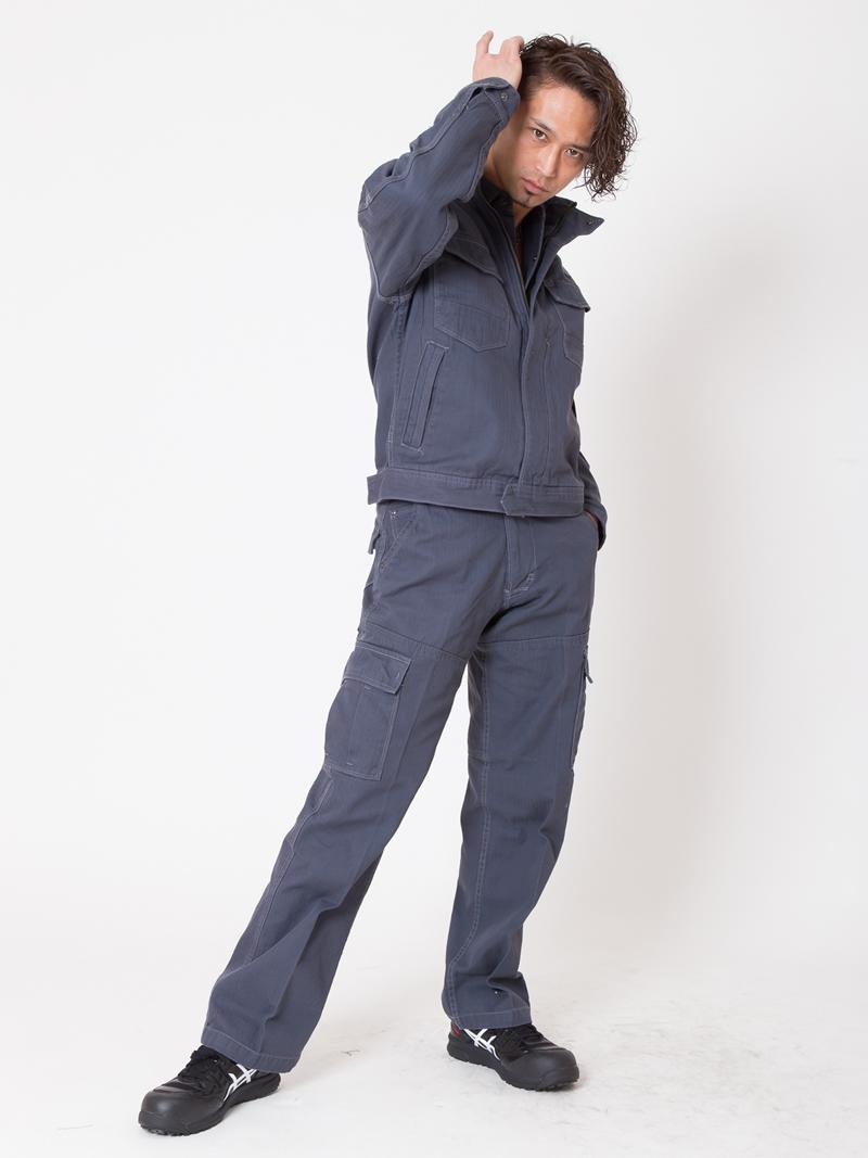 【イーブンリバー】【秋冬・年中作業服】フィッシャーブルゾン US-1107