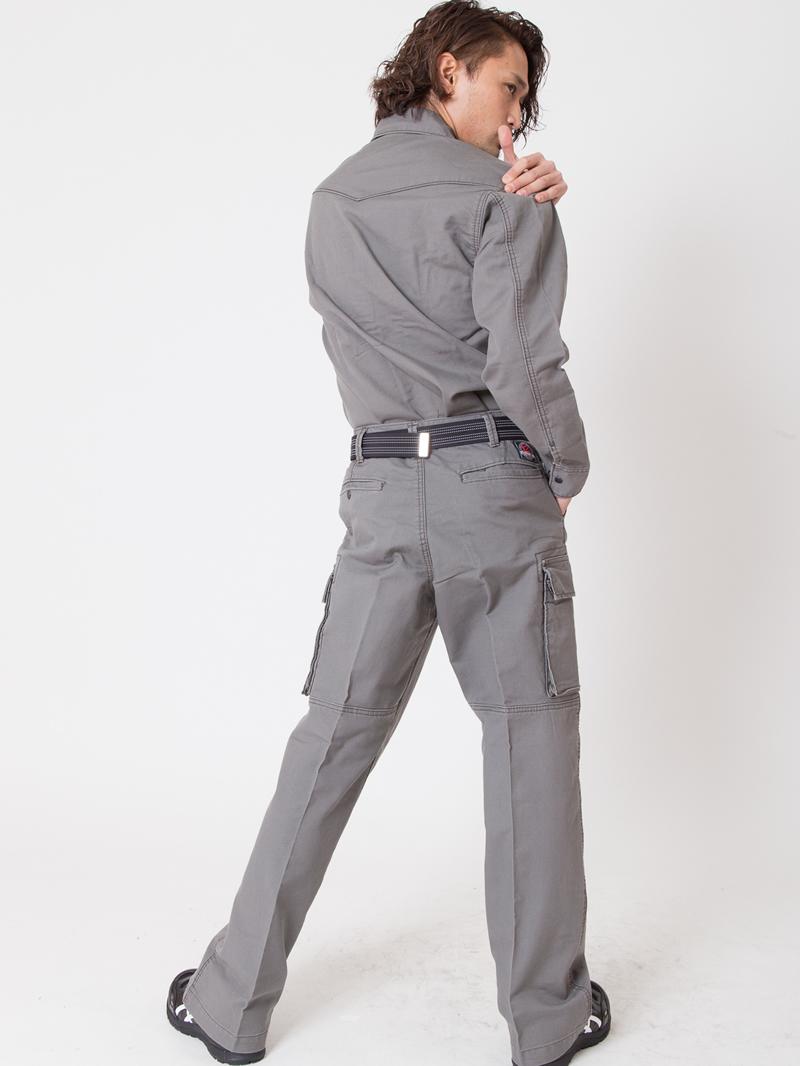 【イーブンリバー】【秋冬・年中作業服】ジャーマンシャツ US-506