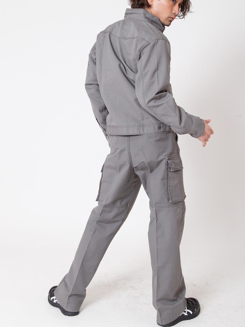 【イーブンリバー】【秋冬・年中作業服】ジャーマンブルゾン US-507