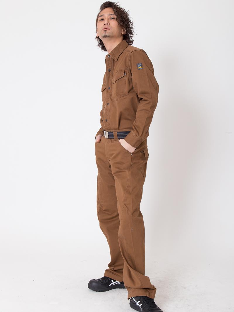 【イーブンリバー】【秋冬・年中作業服】 US-902 ユーロ3Dカーゴ
