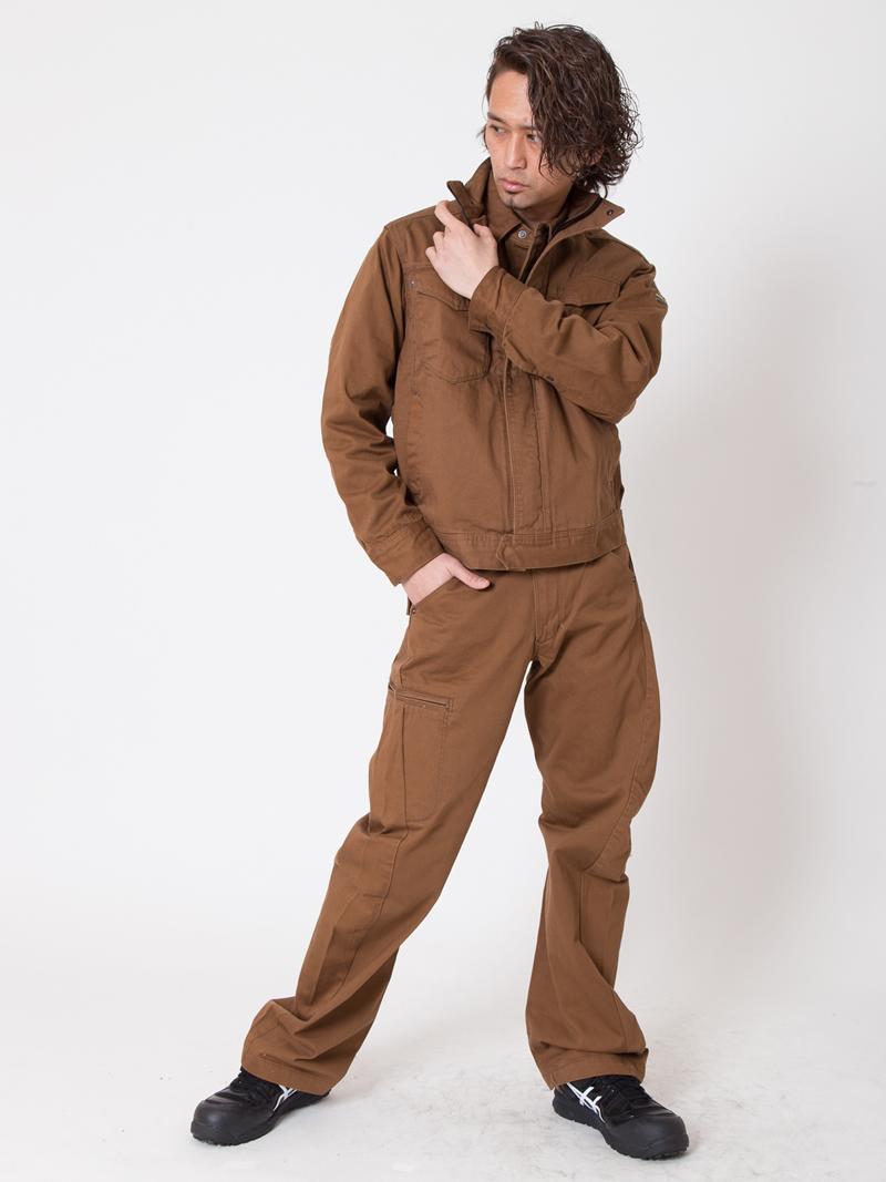 【イーブンリバー】【秋冬・年中作業服】ユーロブルゾン US-907