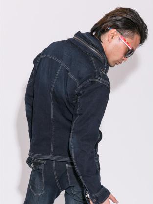 7252【年中作業服】プリントカーゴパンツ【アイズフロンティア】着用イメージ2