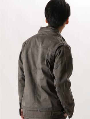 7250【年中作業服】プリントワークジャケット【アイズフロンティア】着用イメージ2