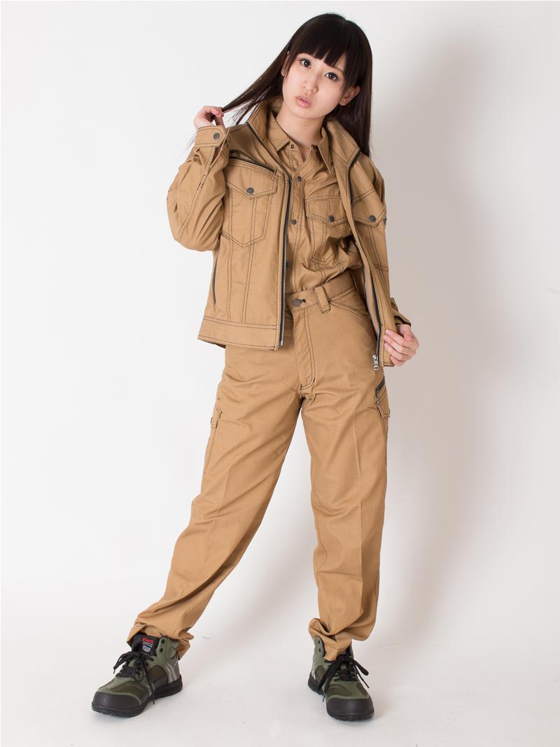 【JAWIN(ジャウィン)】【春夏作業服】長袖ジャンパー56400