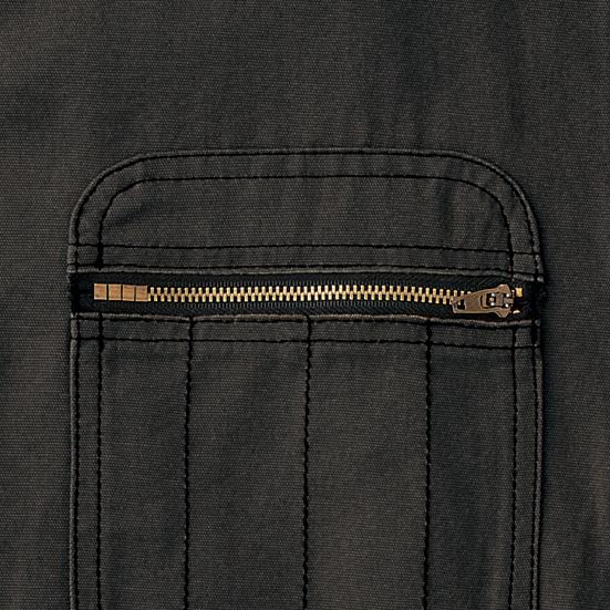 デザインファスナー(胸ポケット)