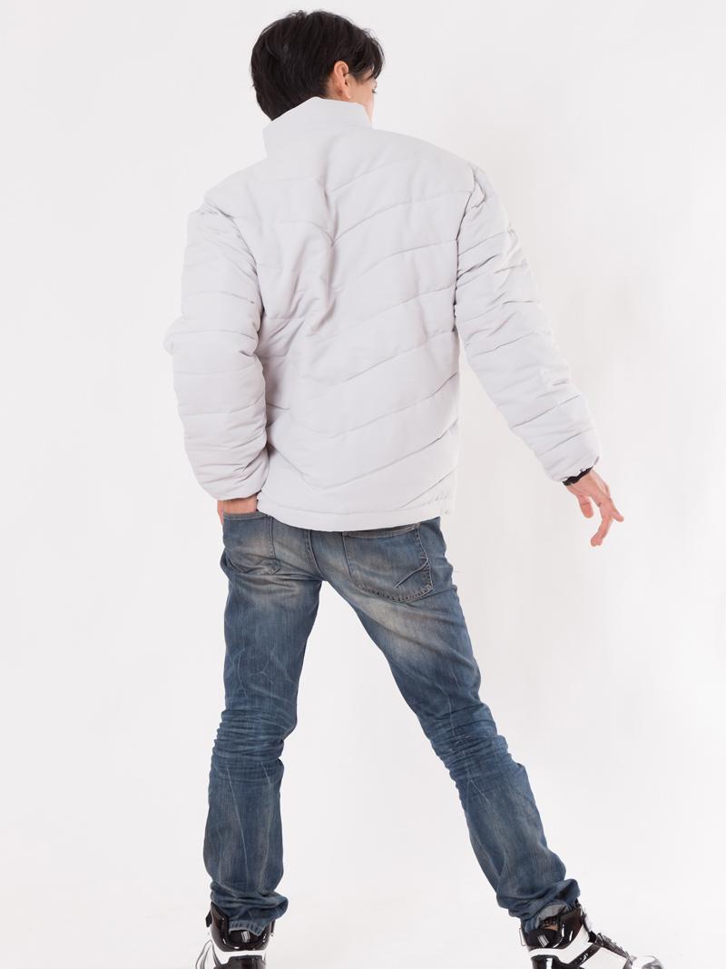 【JAWIN】【秋冬作業服】防寒ジャンパー58300  モデル画像2