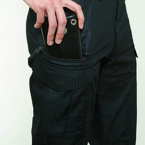 長財布・レベルブック収納ポケット(右・深さ23�p)